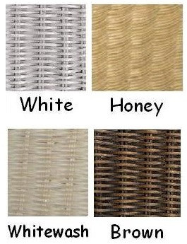 Natural Wicker Colors